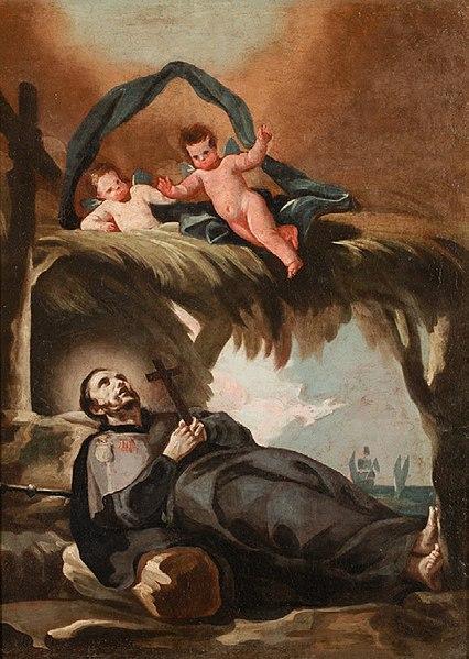 聖フランシスコ・ザビエルの死 フランシスコ・ゴヤ作
